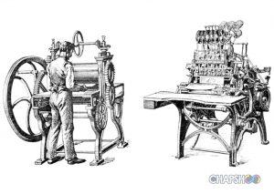 تاریخچه صنعت چاپ